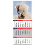 Календар квартальний А3
