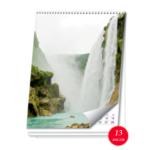 Календар настінний перекидний А4