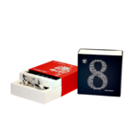 Подарункова коробка 9 цукерок + діловий сувенір